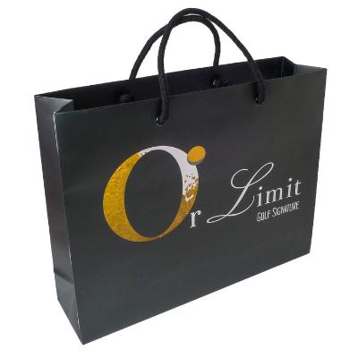 sac papier luxe bijouterie
