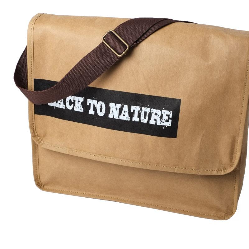 sac bandoulière papier lavable personnalisé