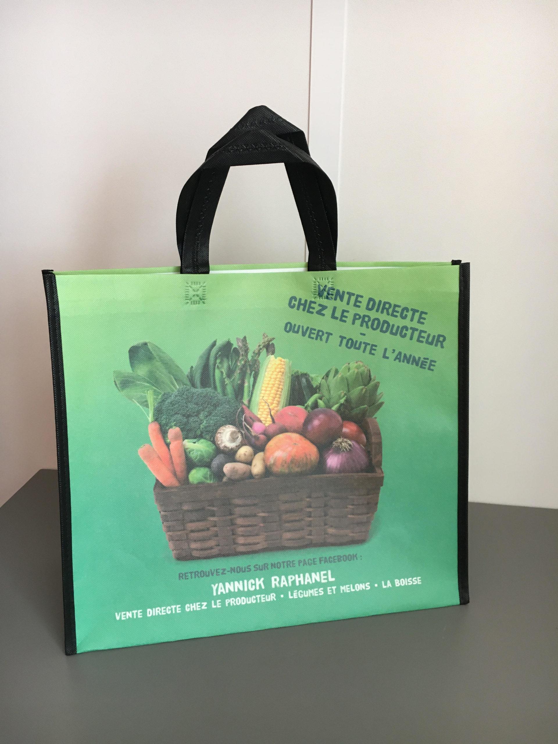 Sac soudé fruits et légumes publicibags