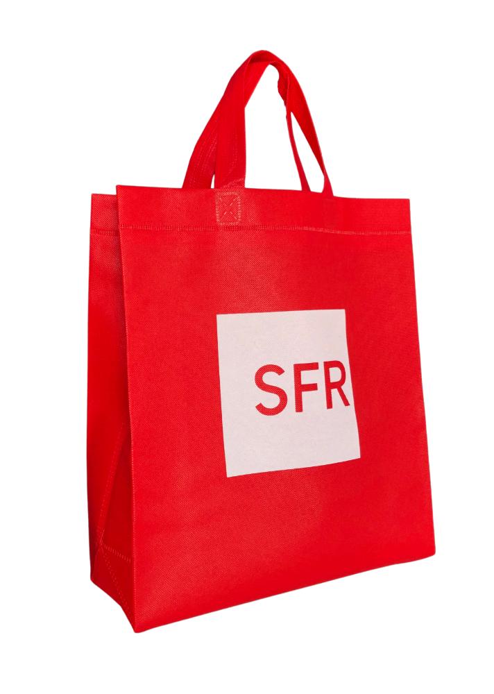 sac non tissé SFR rouge