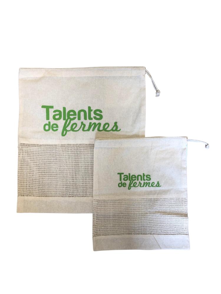 Sac coton - Talents de Fermes